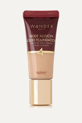 Wander Beauty Nude Illusion Liquid Foundation - Fair