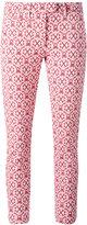 Dondup printed cropped pants - women - Cotton/Polyamide/Polyester/Spandex/Elastane - 26