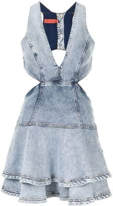 Manning Cartell flared mini dress