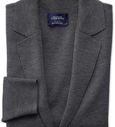 Charles Tyrwhitt Charcoal merino wool blazer