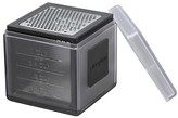 Microplane 3 Blade Cube Grater with Storage Cover - Black