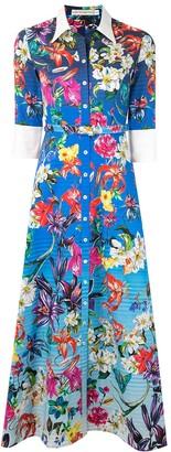 Mary Katrantzou Floral Print Shirt Dress