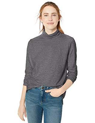 Goodthreads Vintage Cotton Roll-Sleeve V-Neck T-ShirtMedium