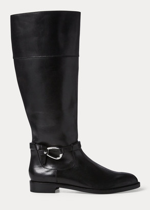 Ralph Lauren Harlee Leather Boot
