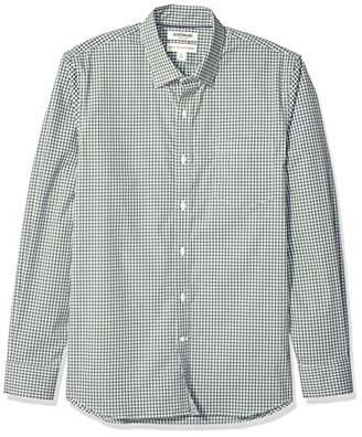 Goodthreads Men's Standard-Fit Long-Sleeve Stretch Poplin (All Hours),X-Large