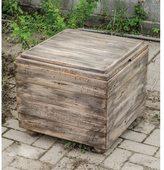 Uttermost Avner Cube Wood Table
