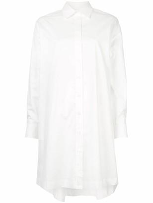 CK Calvin Klein oversized shirt dress