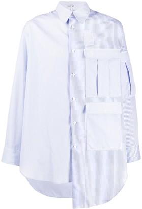 Loewe Oversized Asymmetric Shirt