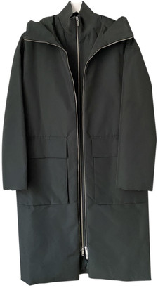 Cos Green Polyester Coats