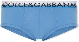 Dolce & Gabbana Brando logo-waistband briefs