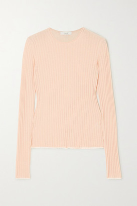 Vince Ribbed Cashmere Sweater - Pink