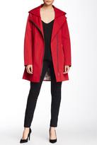 Soia & Kyo Asymmetric Zip Rain Jacket