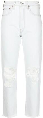 Rag & Bone Maya high-rise slim-cut jeans