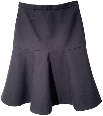 Stella McCartney Stella Mc Cartney Blue Wool Skirt for Women