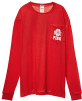 PINK The Ohio State University Long Sleeve Campus Tee
