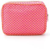Sub zig zag pattern make-up bag