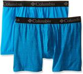 Columbia Men's 2-Pack Zig Zag Performance Stretch Boxer Brief