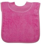 Bumkins Absorbent Cotton Pullover Bib, Pink by