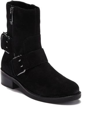 Marc Fisher Parole Suede Buckle Boot
