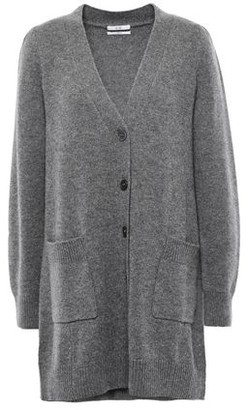 Co Melange Wool And Cashmere-blend Cardigan