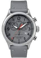 Timex R Waterbury Chronograph Leather Strap Watch, 42mm