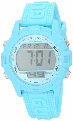 GUESS Women's Analog Quartz Watch with Silicone Strap