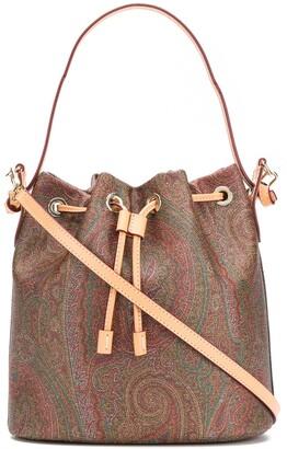 Etro Paisley-Print Bucket Bag