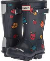 Hunter Original Ladybird Print Kids Shoes