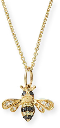 Sydney Evan Girls' 14k Gold Small Bee Charm Necklace