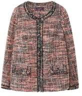 Violeta BY MANGO Pocket textured jacket