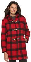 Woolrich Women's Century Hooded Wool Blend Coat