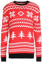 Urban Classics CHRISTMAS CREWNECK CHRISTMAS Jumper red/white/black