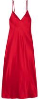 Ellery Technopriest Silk-Satin Midi Dress