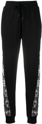 Love Moschino Lace Panel Trousers
