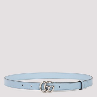 Gucci Double G Thin Buckle Belt
