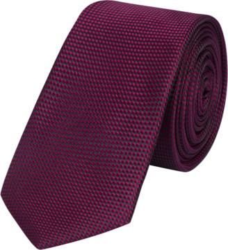 yd. Burgundy Marx 6.5cm Tie
