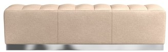 Williams-Sonoma Batavia Leather Large Channeled Bench