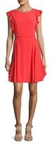 Julia Jordan Gathered Flare Dress