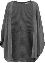Milly Cashmere Ribbed-Knit Cardigan