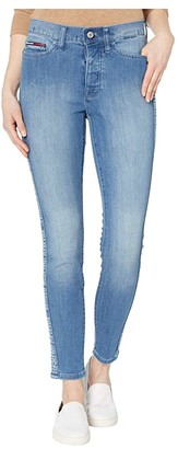 Tommy Hilfiger Adaptive Signature Curve Legging (Light Wash/Multi) Women's Jeans