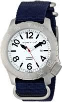 Momentum 1M-DV74L7U Men's Torpedo Sport Wrist Watches, White
