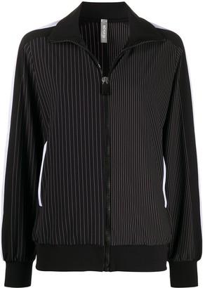 NO KA 'OI Pinstripe Print Jacket