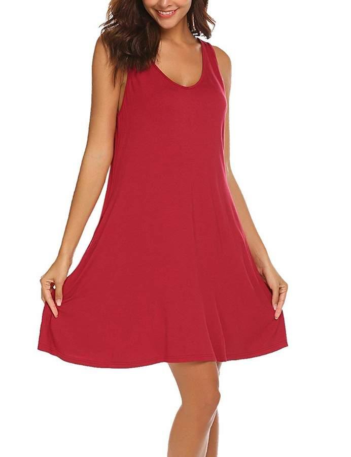 468543507c Red Side Pocket Dresses - ShopStyle Canada