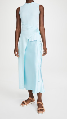 Rosetta Getty Sleeveless Split Apron T-Shirt