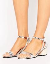 Miss Selfridge Mini Block Heeled Sandal