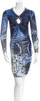 Emilio Pucci Embellished Printed Dress