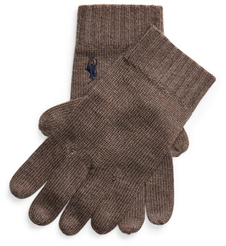 Ralph Lauren Signature Pony Wool Gloves