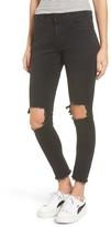 One Teaspoon Women's Freebirds Ripped High Waist Skinny Jeans