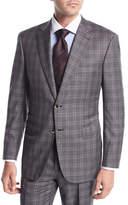 Brioni Plaid Wool Two-Piece Suit