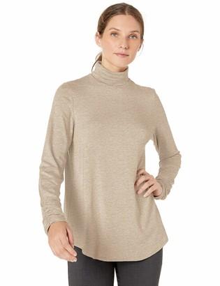 Karen Kane Women's Shirred Sleeve Turtleneck TOP